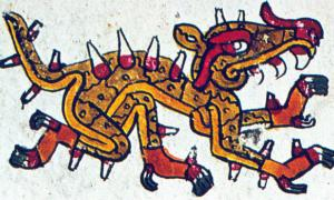 Cipactli and Aztec Creation
