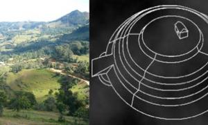 5,500-year-old ceremonial center and circular pyramid in Peru