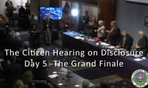 Citizen Hearing on Disclosure - Day 5