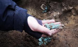 Archaeologists Discover a Huge Stash of Medieval Coins in Hungary