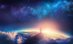 Man looking out to the cosmos. Credit: Kevin Carden / Adobe Stock