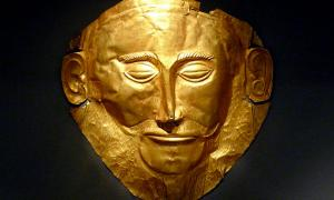 The Mycenaean Death Mask of Agamemnon