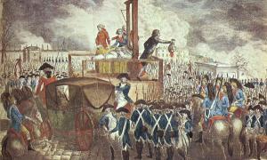 Decapitation of King Louis XVI