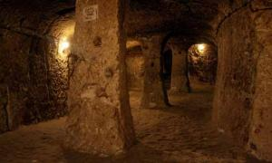Derinkuyu – the underground city in Cappadocia