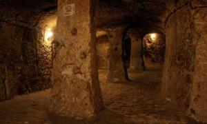 Derinkuyu – the underground city in Cappadocia