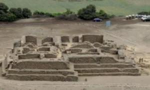 5,000-year-old pyramid decimated in Peru
