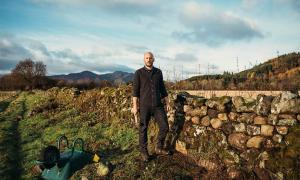 Luke De Garis is the apprentice who has joined forces with Martin Tyler at Dry Stone Walling Dry to learn the ancient craft of stone walling, thanks to the Queen Elizabeth Scholarship Trust. Source: Kristie De Garis