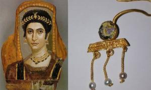 Earring Unearthed In Bulgaria Matches Those In Multiple Mummy Portraits