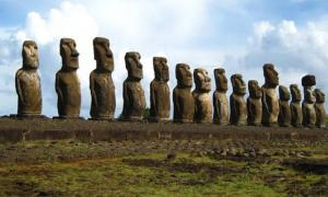 The Cataclysm of Easter Island - And the Statures Walked