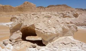 Boats Arch in the Eastern Sahara