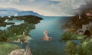 'Crossing the River Styx' (circa 1520-1524) by Joachim Patinir. Many ancient people imagined the edges of the earth as strange and magical places.