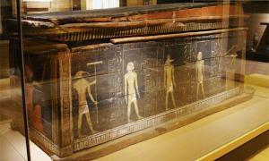 Ancient Egyptians trading Nicotine
