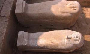 Two 26th dynasty Egyptian mummies