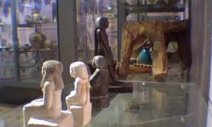Ancient Egyptian Statue Moving - Manchester