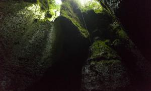 One of the entrances to the Tayos Caves.