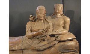 Etruscan sarcophagus