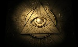 The all-seeing Eye of Providence symbol 	Source: markus dehlzeit / Adobe stock