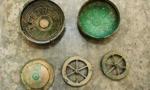Some of the finds presented at the Jan Dekerta Lubuskie Museum in Gorzów Wielkopolski.