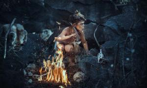 Study shows Neanderthals had fire starting ability.    Source: EmotionPhoto / Adobe Stock