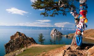 Landscape at the Baikal lake in Siberia, origins of the first Americans? Source: serge-b / Adobe Stock