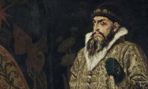 Portrait of Ivan IV, the first tsar of Russia, by Viktor Vasnetsov.