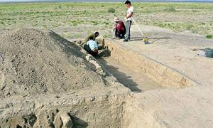 Excavation of fortress established by Mongol conqueror Genghis Khan unearthed in Mongolia