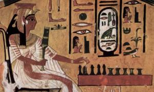 IMAGE Upload an image to go with this article. Show row weights FILE INFORMATIONOPERATIONS   Image icon Egyptian-Game-of-death.jpg (113.35 KB) Alternate text Depiction of an ancient Egyptian queen playing senet ('game of death') from Nefertari's burial chamber, wife of Ramses II.      Source: Public domain This text will be used by screen readers, search engines, or when the image cannot be loaded.   Image icon game-of-death.jpg (100.58 KB) Alternate text This text will be used by screen readers, search en