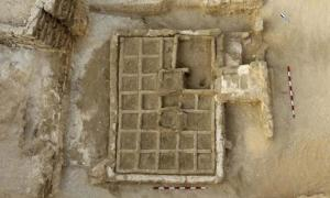 A funerary garden discovered by CSIC's research team.