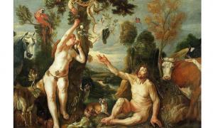 Adam and Eve by Jacob Jordaens, 1640s