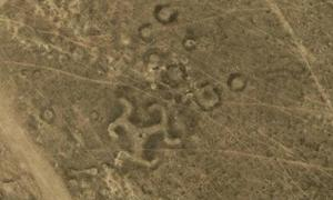 Ancient geoglyphs in Kazakhstan