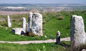 Unknown city in Gezer - Israel