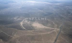 Giant stone circles in the Middle East