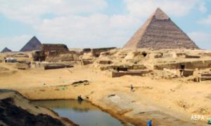 Port discovered in Giza