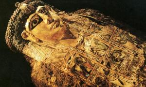 Mummy from the Valley of the Golden Mummies
