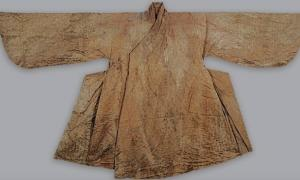 The man's gown found in the Ming Dynasty tomb