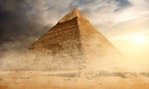 Great Pyramid of Egypt. Source: BigStockPhoto