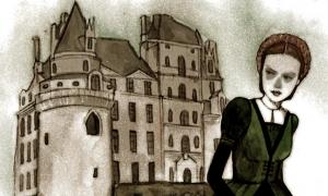Château de Brissac and the Ghost of the Green Lady