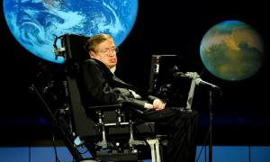 Stephen Hawking, Mankind Survival in Space