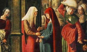 'Meeting of Mary and Elisabeth' by Marx Reichlich. (Deriv.)