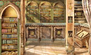 Drawing of the house of wisdom