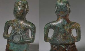 Humanoid Figurine Found In Wimpole: Man Or God, Roman Or Celtic?