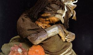 Incas mummies sacrificed