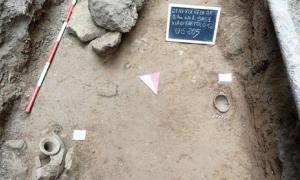 Infant burial site, Gela, Sicily.            Source: Regione Siciliana