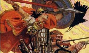The Irish Legend of Cu Chulainn