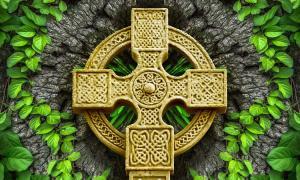 A popular Celtic symbol is the Celtic Cross.