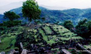 Pyramid Structure in Java 9,000-years-old