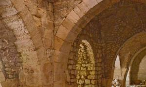 Crusader Hospital in Jerusalem