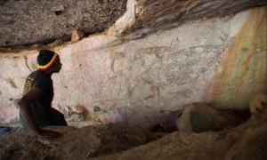 The Oldest? 17,300-Year-Old Kangaroo Painting Discovered in Australia