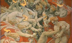 The legendary Furies of ancient Greek mythology