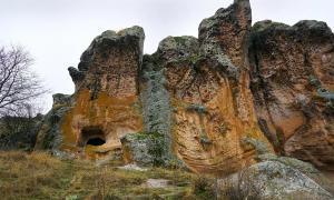 The Phrygian King Midas monument named Yazilikaya at Eskişehir, Turkey. (Selcuk/Adobe Stock)